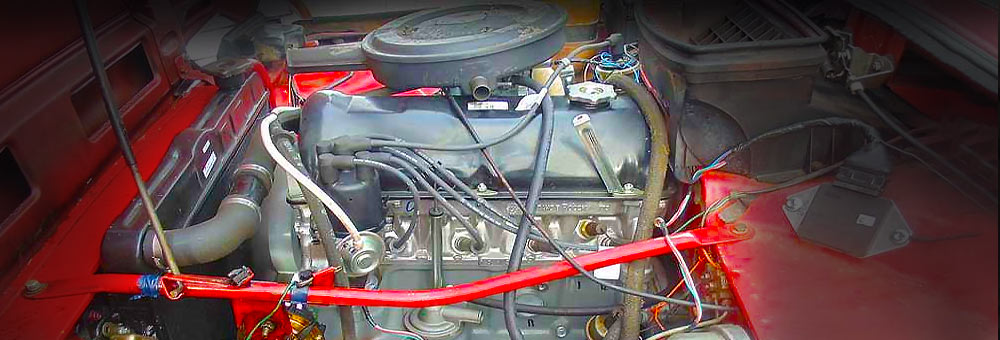 Силовой агрегат 2121 под капотом Нивы.