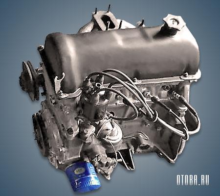 Двигатель VAZ 2121 фото.