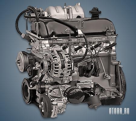 Двигатель VAZ 2123 фото.
