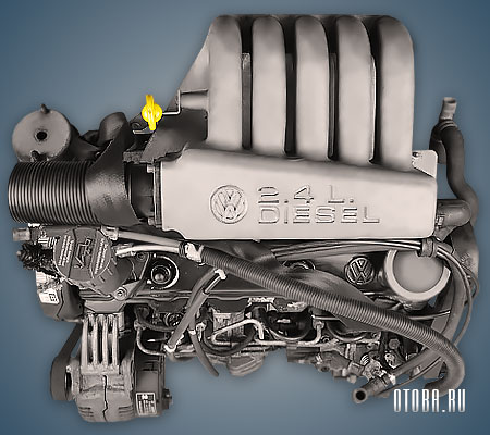 Двигатель AAB фото.