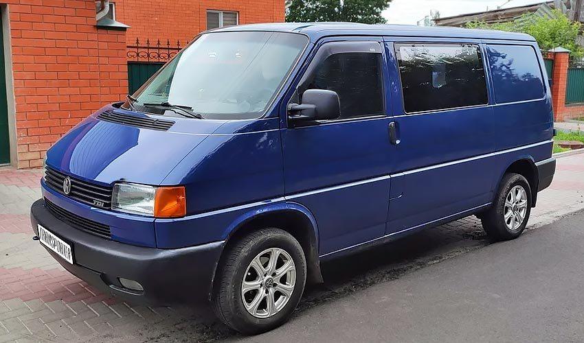 Volkswagen Transporter с дизельным двигателем 2.4 литра 1994 года