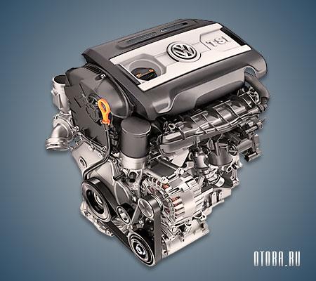 Двигатель CAWA фото.