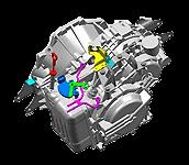 Иконка 5-ступенчатой автоматической трансмиссии Hyundai - Kia